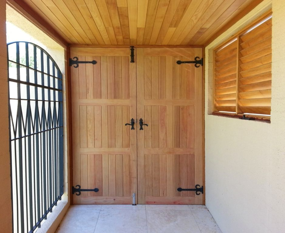 solid western red cedar double doors entrance doors pinterest