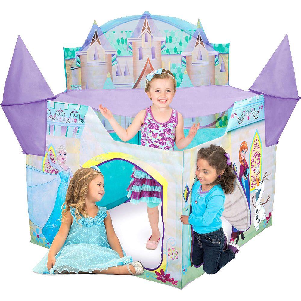 Disney Frozen Castle Tent Pretend Play Elsa Ice Playhut