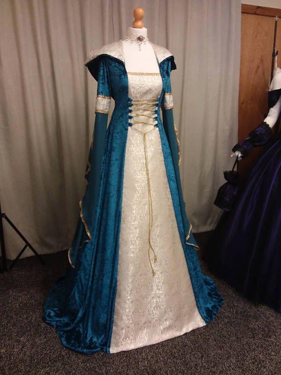 Ropa renacentista medieval celta vestido de boda vestido   vestidos ...