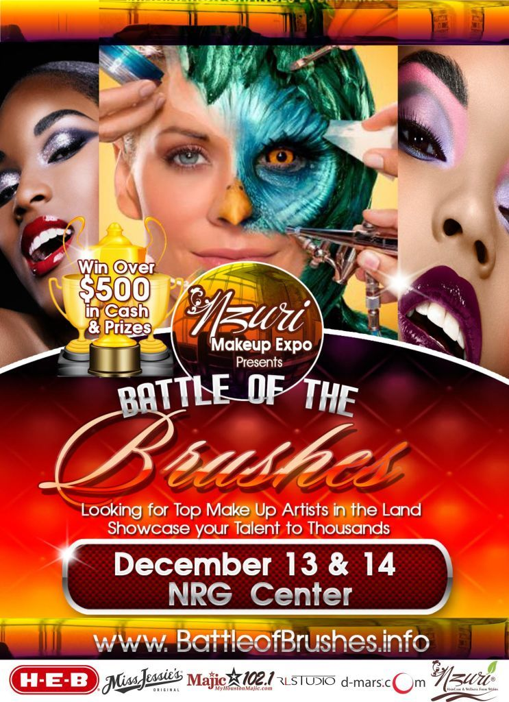 Battle of Brushes Saturday & Sunday December 13th & 14th