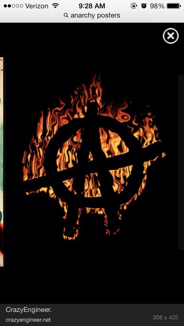 Fire Anarchy Anarchy Art Sons Of Anarchy