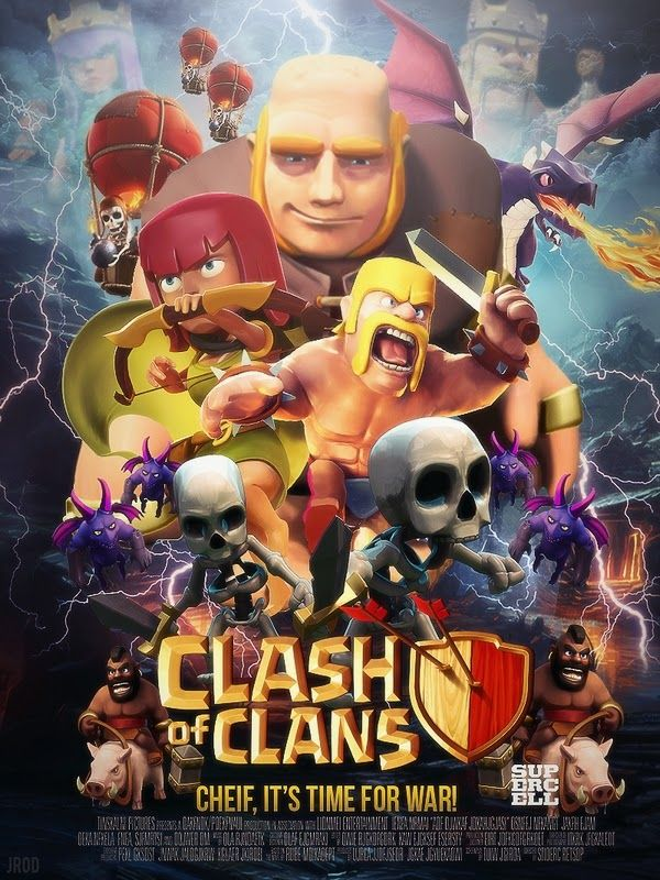COC Clash of Clans Android Game iphone case