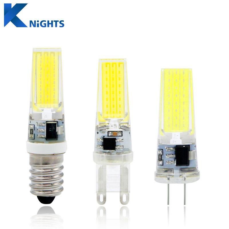 G4 Lampa Led G9 3 W 6 W 9 W Cob Led Zarowki E14 Ac Dc 12 V 220 V Mini Lampada Doprowadzily Wymienic Halogenowe G4 G4 Cob 360 Kat Wia Led Bulb G4 Led Light Bulb