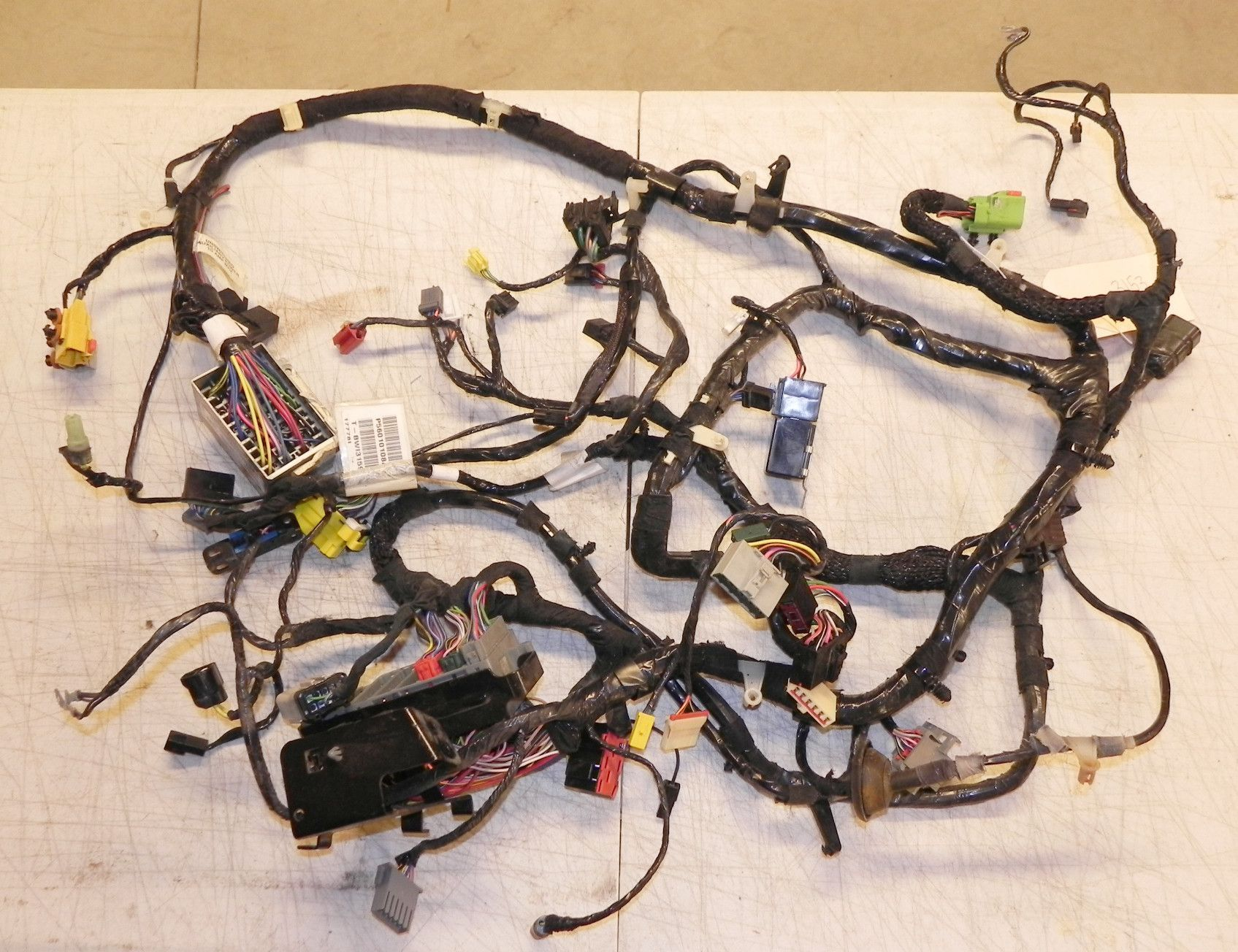 Jeep Wrangler Tj Interior Under Dash Wiring Harness 2000 Fuse Box Soft Top