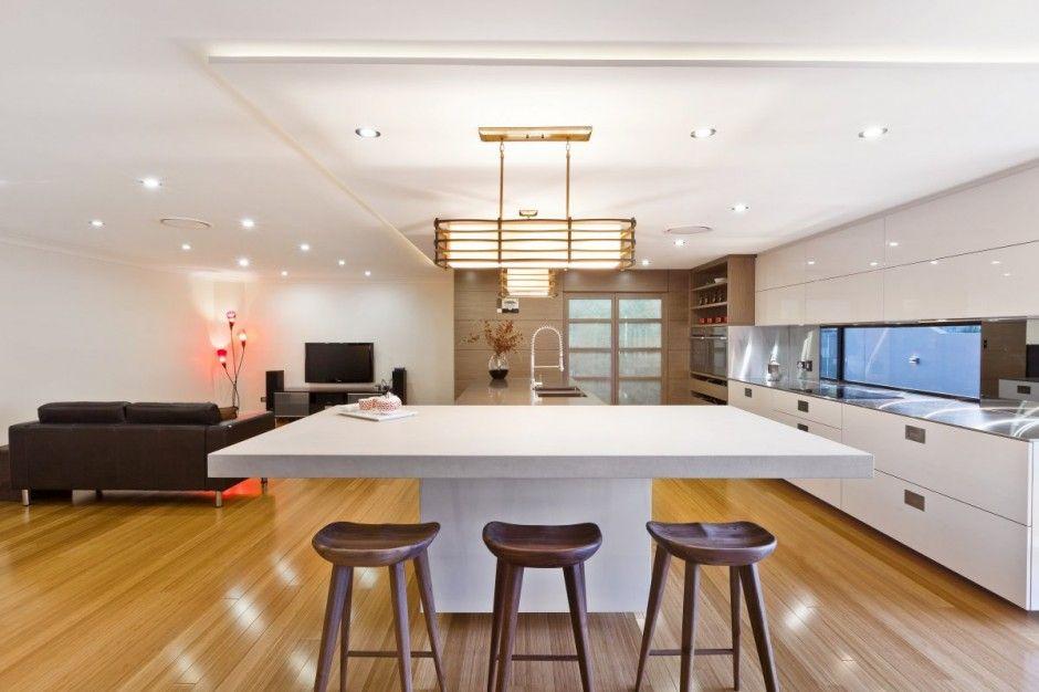 2013 East Meets West Kitchen Design by Darren James Latest Interior ...