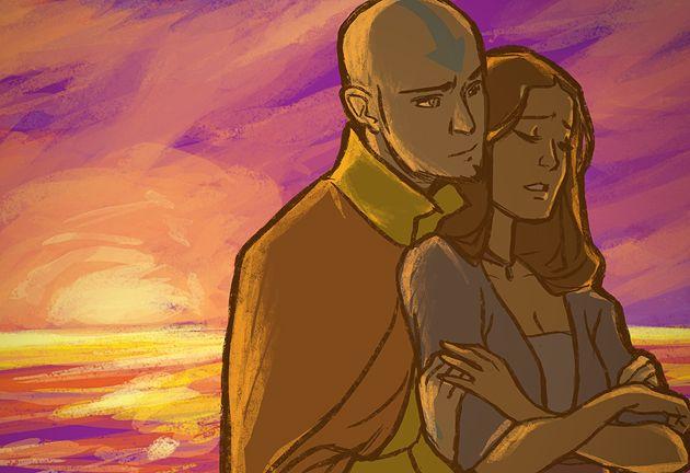 Avatar The Last Airbender Aang X Katara Kataang Avatar The