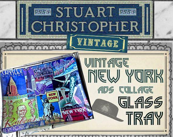Vintage New York City Advertisements by stuartchristopher on Etsy, $49.00