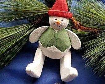 Movable Snowman