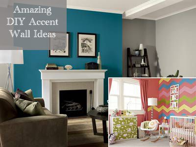 Amazing accent wall ideas!