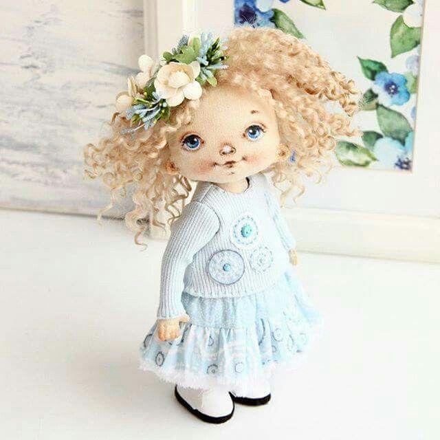 Pin de maria tejeda en muñecas   Pinterest   Muñecas y Costura