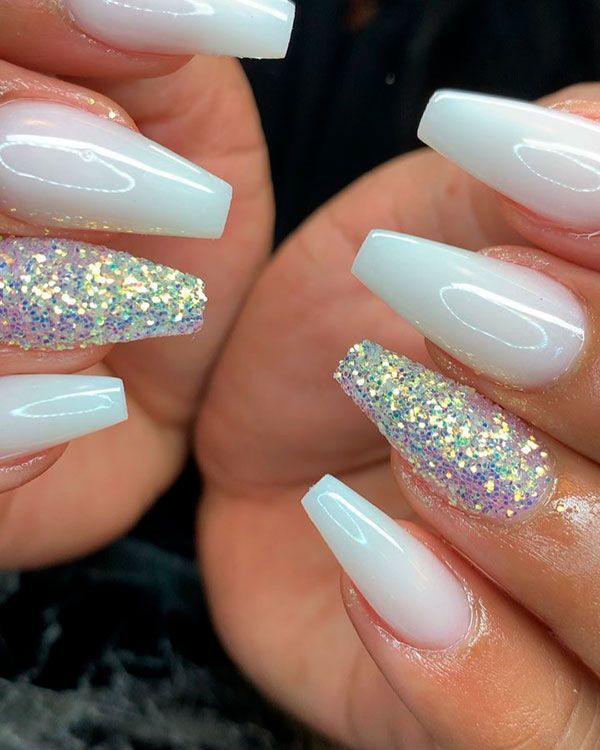 120 Best Coffin Nails Ideas That Suit Everyone Shiny Nails Designs White Coffin Nails Blue Acrylic Nails