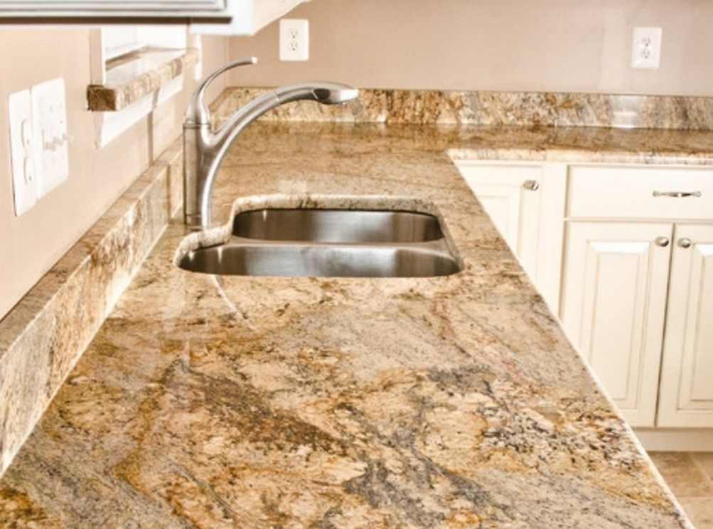 Yellow River Granite Google Search New Countertops White Kitchen Cabinets
