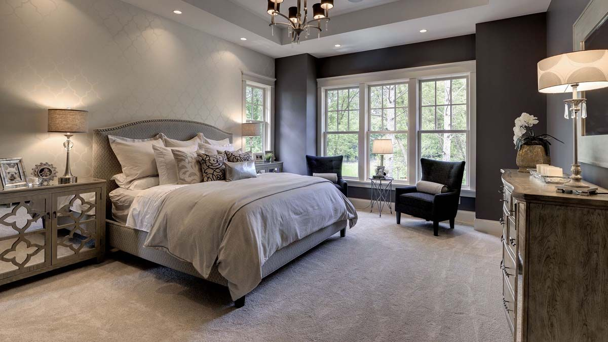 Get Inspired By The Interior Design Of These Luxury Bedrooms Interiordesign Luxurydesign Exc Traditional Bedroom Design Woman Bedroom Master Bedrooms Decor Luxury master bedroom paint