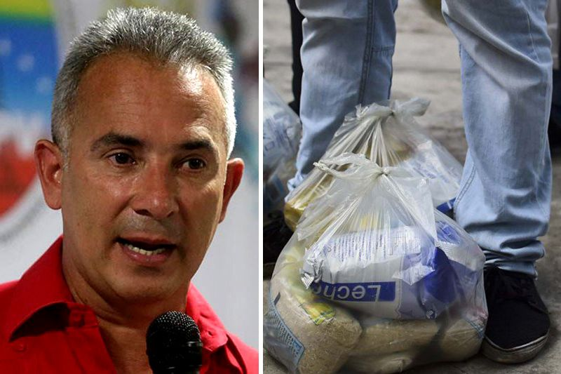 "¿LE CREEN? Freddy Bernal niega donación alimentos a Venezuela: ""Opositor, quédese tranquilo con la cosa de México"" - http://wp.me/p7GFvM-D1r"