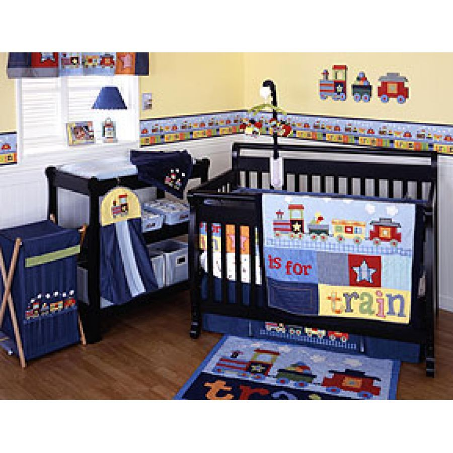 Train Theme Baby Bedding And Nursery Decor