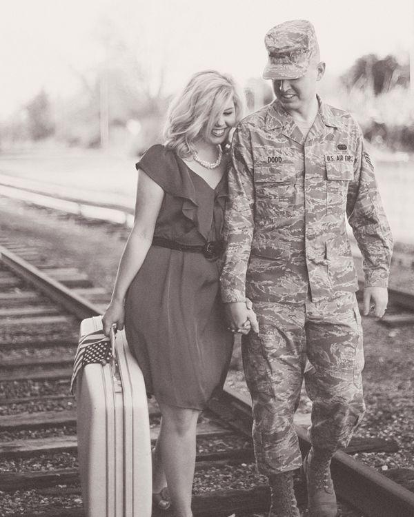 Military Couple Photog...