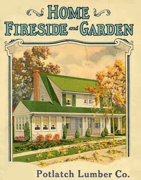 Home Fireside And Garden Undated Nostalgic Art House And Home Magazine Cute Cottage