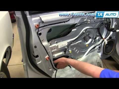 How To Install Replace Front Power Window Regulator 2001 06 Hyundai Elantra Youtube Hyundai Elantra Elantra Hyundai