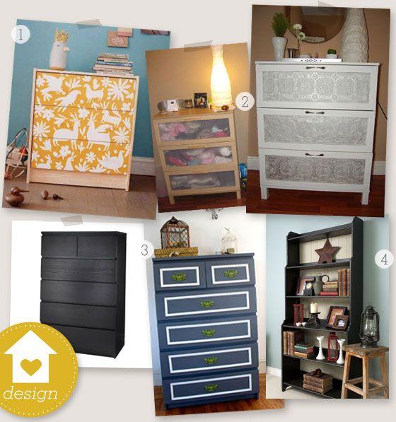 Painted Ikea Furniture | Dresser ideas, Paint ikea furniture and Dresser