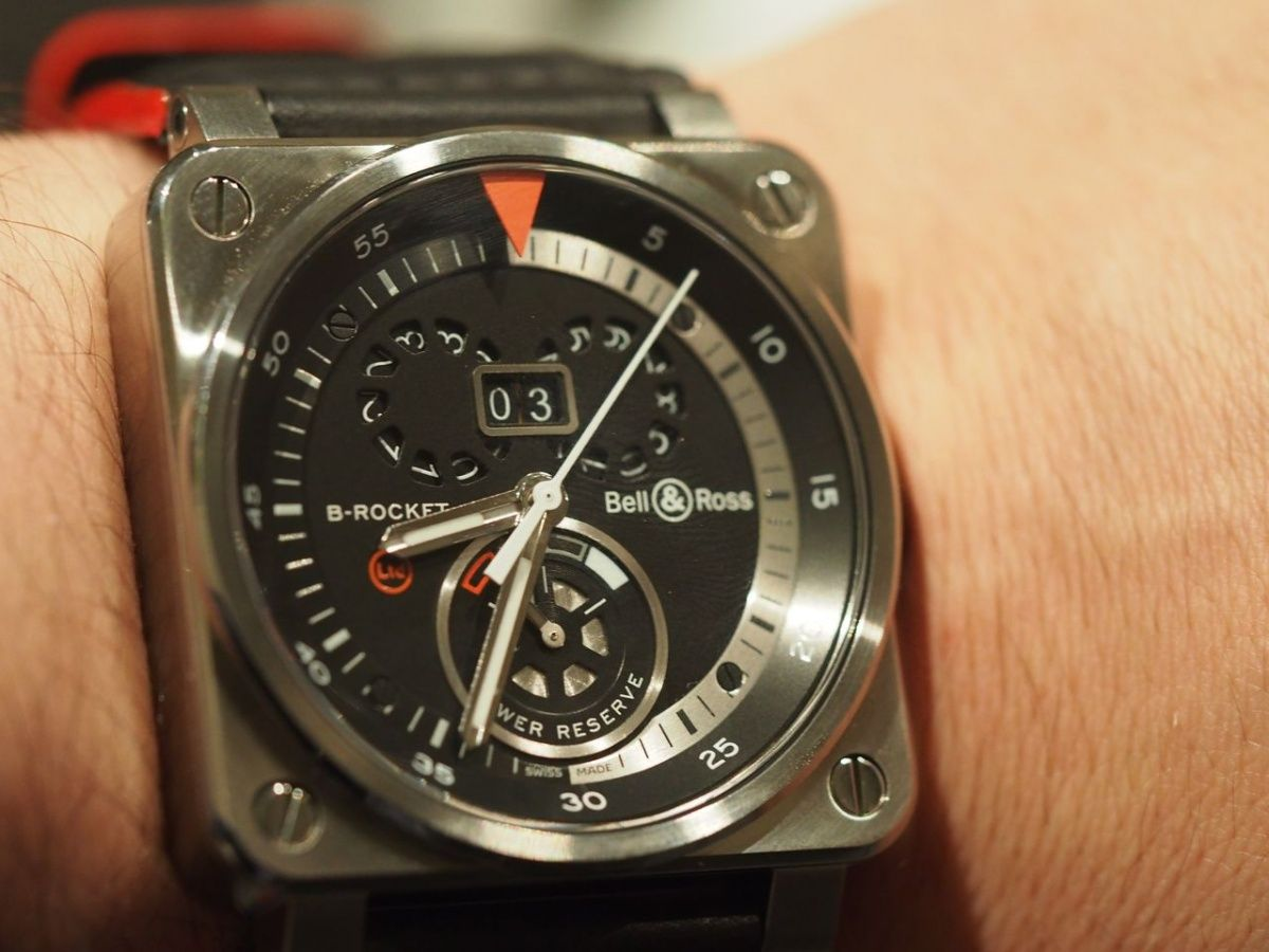 Bell & Ross unveiled the B-Rocket, a high-speed Harley-Davidson, and the BR 01 B-Rocket and BR 03 B-Rocket watches