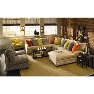 Sectional I Want In Different Color Margo Sectional Sofa With Chaise By Sam Moore Furniture Wholesale Furniture Home Living Room