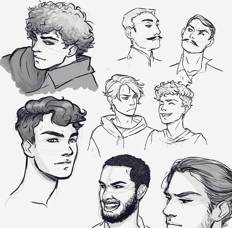 Pin By Alicia Glatz On Sketches Of Guys Boy Hair Drawing How To