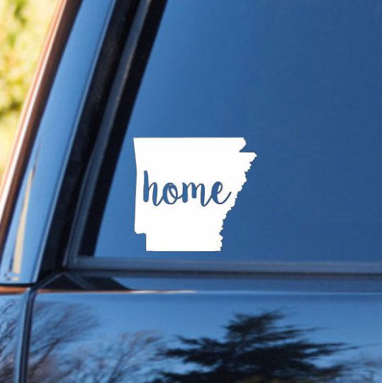 Arkansas Home Decal Arkansas State Decal Homestate Decals - Advocare car decal stickers