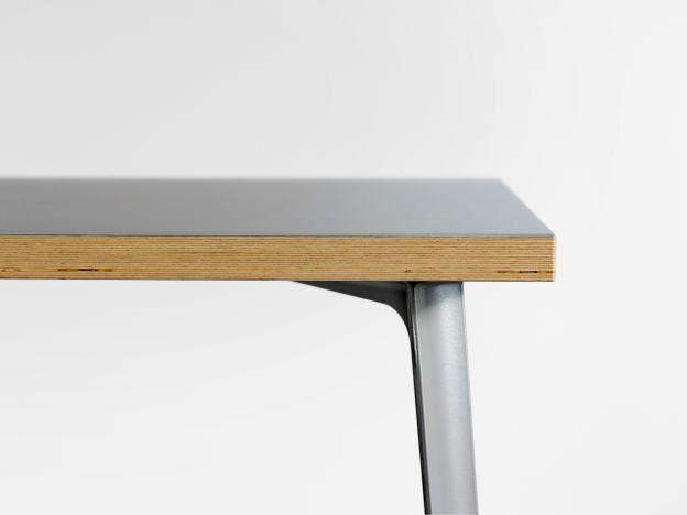 Schreibtischplatte holz  Linoleum Tischplatte Basic, Tischplatten, Linoleum Tischplatte ...