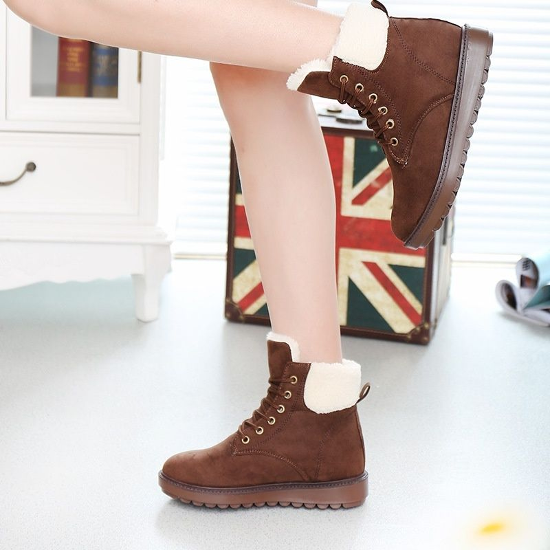 65fdcd0906e Winter Classic Women's Snow Boots Fashion Winter Short Boots | Shoes ...