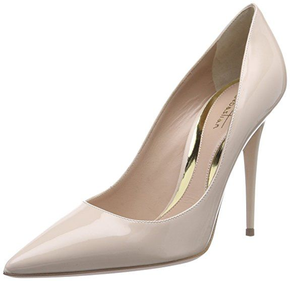 Damen Schuhe Pumps High Heels Beige 39 XhAPG