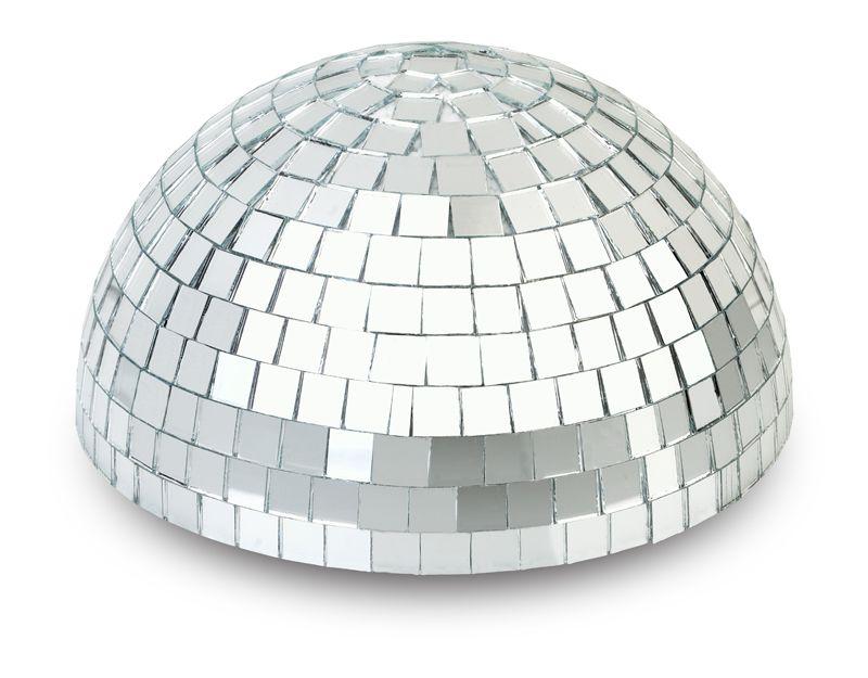 Cool 8 Silver Half Dome Centerpiece Disco Mirror Ball For Dance Beutiful Home Inspiration Xortanetmahrainfo