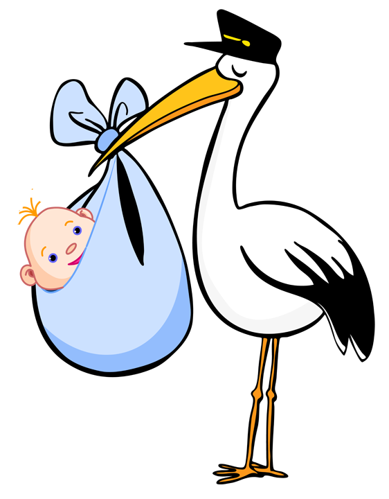 free clip art for birth announcements blue blanket clip art and rh pinterest com stork clip art free stork clipart images