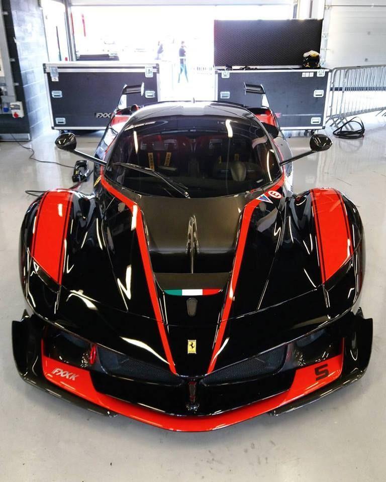 Ferrari FXX K QuotBlack Redquot In 2020