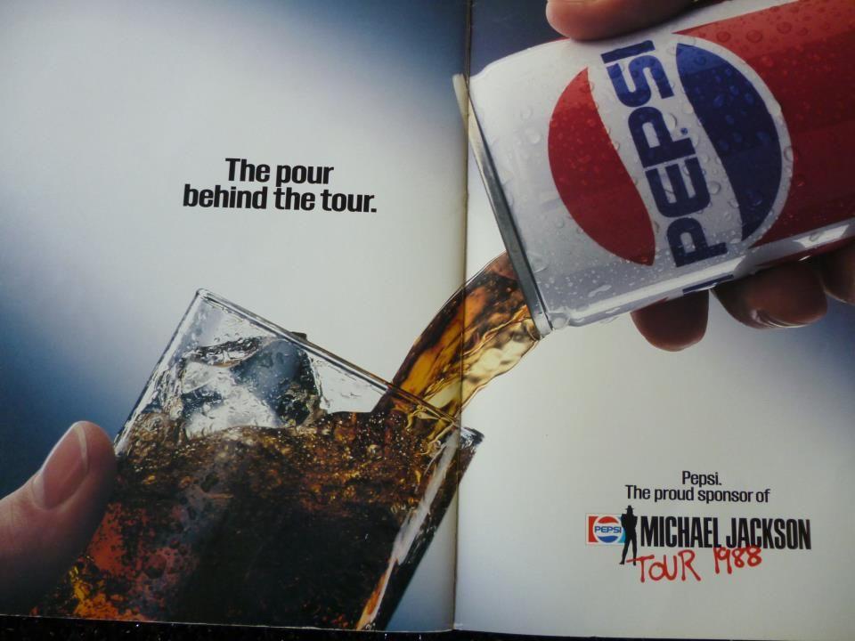 Pepsi print advertisement analysis