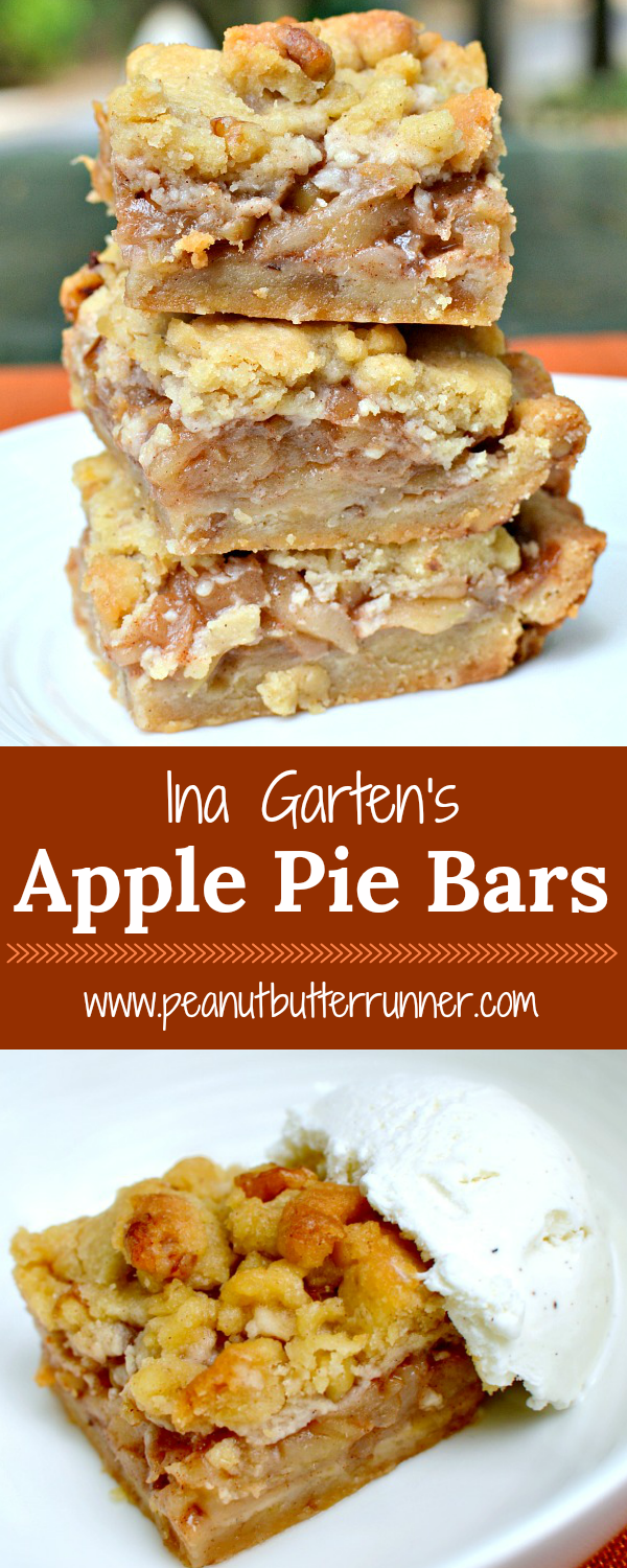 Ina Garten Bars Ina S Apple Pie Bars Easier Than Apple Pie