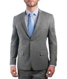 Traje #Slimfit color gris para #Hombres en #Oferta