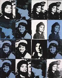 Andy Warhol (1928-1987). Sixteen Jackies.