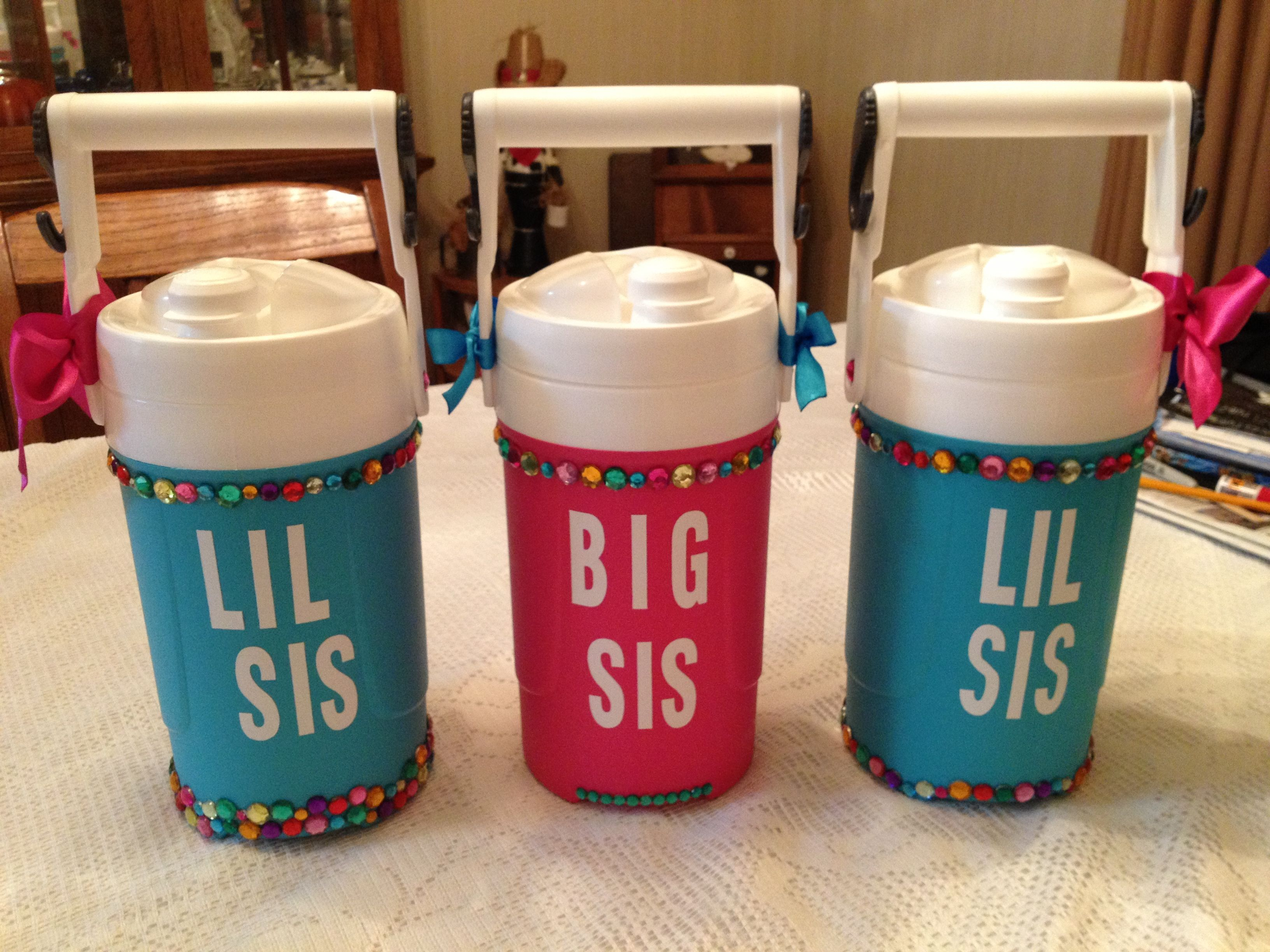 Pin By Marie Carmon On Cheer Big Sis Lil Sis Gifts Lil Sis Gift Cheer Gifts