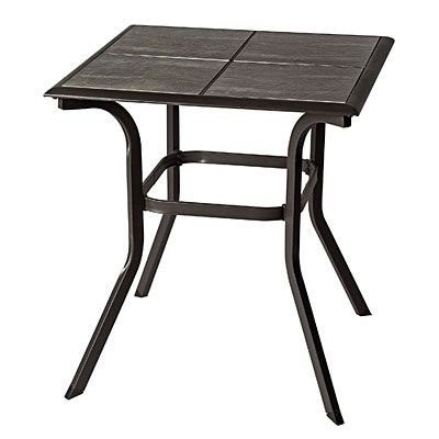 Wilson Fisher Monterra 25 Square Tile Top Bistro Table