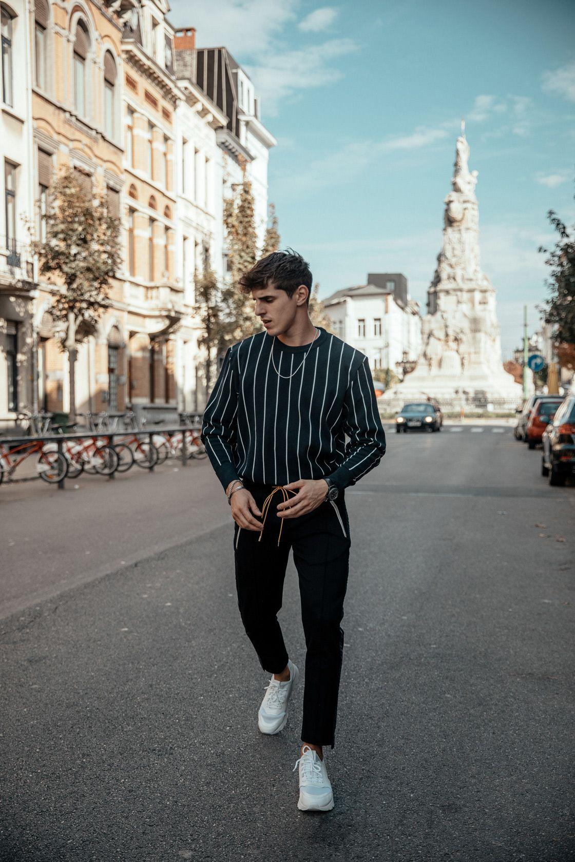 Striped City Boy City Lifestyle Zara Shop City Boy
