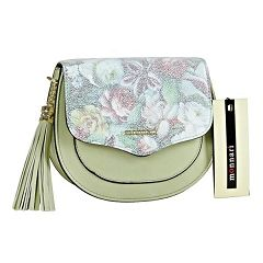 Monnari Piekna Torebka Listonoszka W Kwiaty Zielona Bags Saddle Bags Crossbody