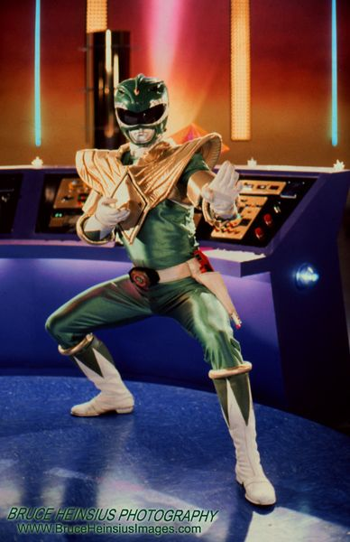 Green Ranger in Command Center by ~Brucer007 on deviantART | Nerdy
