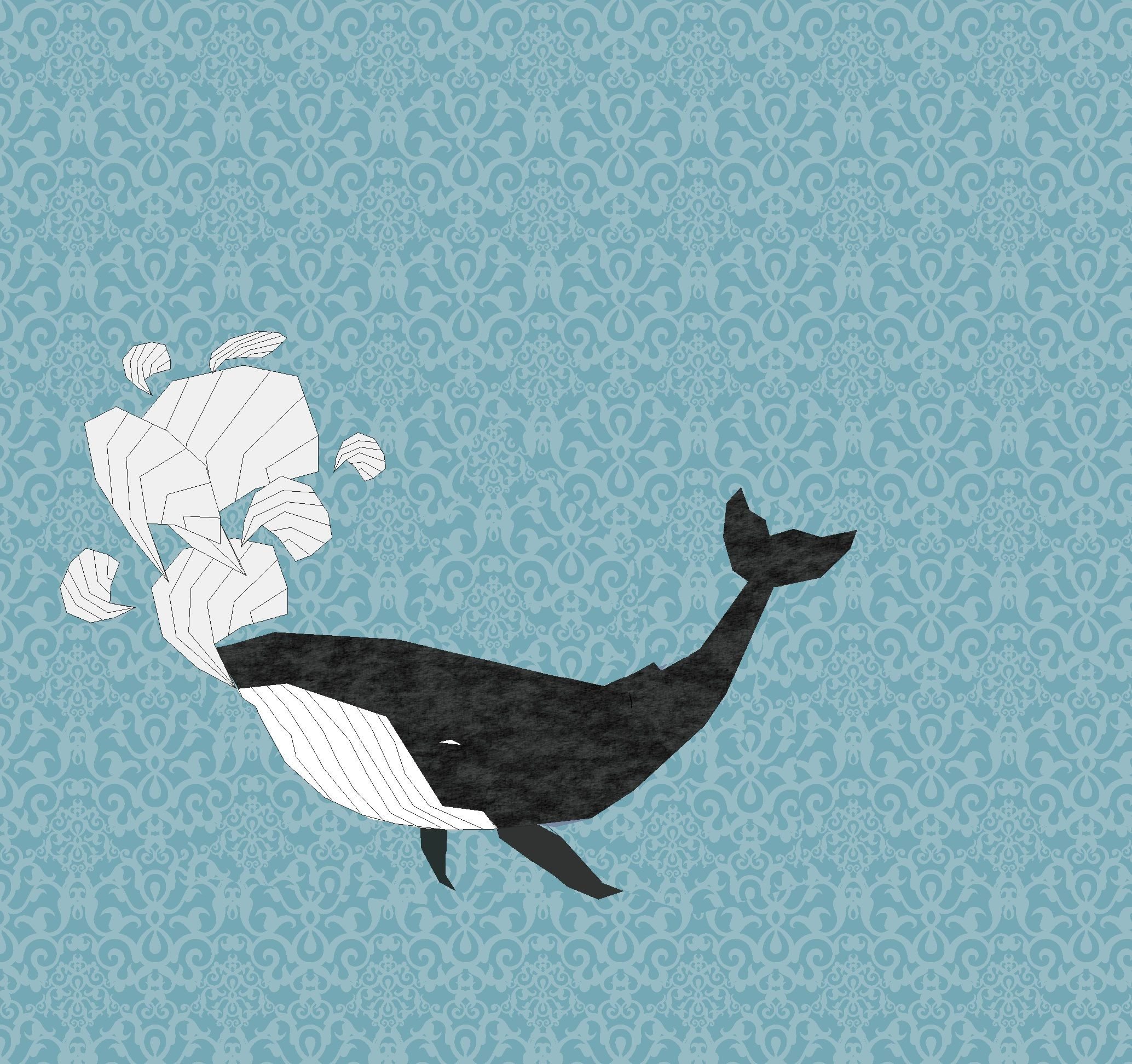 my first graphic #whale