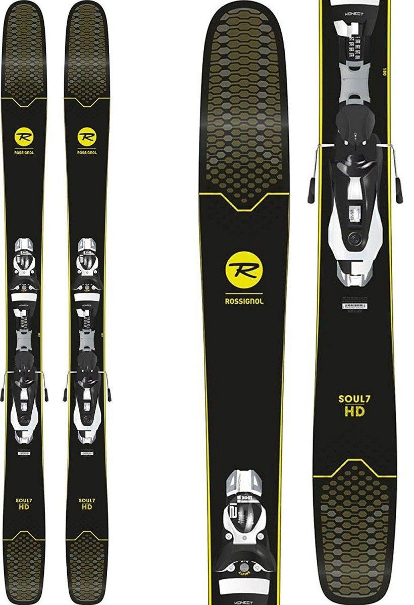 New 2018 Rossignol Soul 7 Hd Skis W Konect Nx 12 Dual Wtr B120 Bindings 180cm Skiing Best Skis Free Skiing