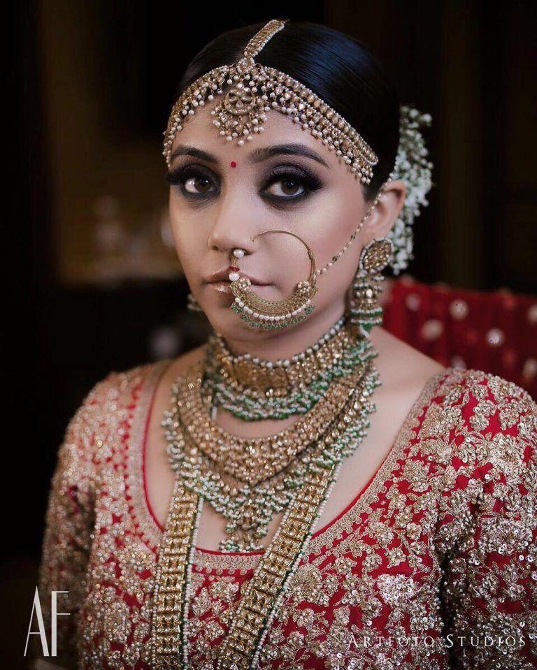 Best Bridal Makeup Artist in Delhi Top Bridal Makeup