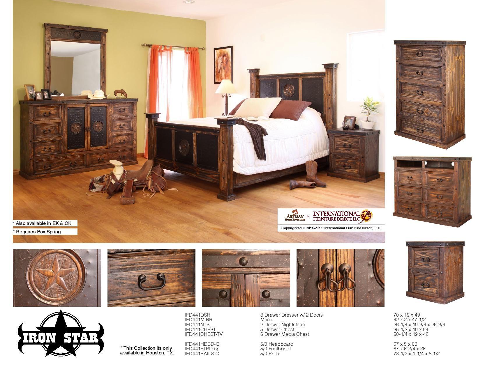 International Furniture Direct Bedroom Furniture ...