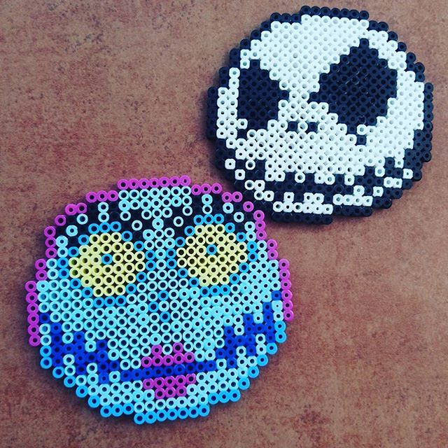 Nightmare Before Christmas perler beads by smile.cherry325 | Alpha ...