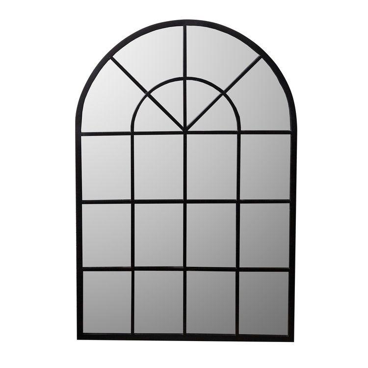 Miroir grande demeure en m tal arrondi 92x135cm alix miroir miroir atelier miroir et miroir for Miroirs grandes dimensions