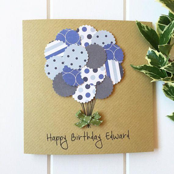 Birthday Card Birthday Card For Him Boyfriend Husband Son