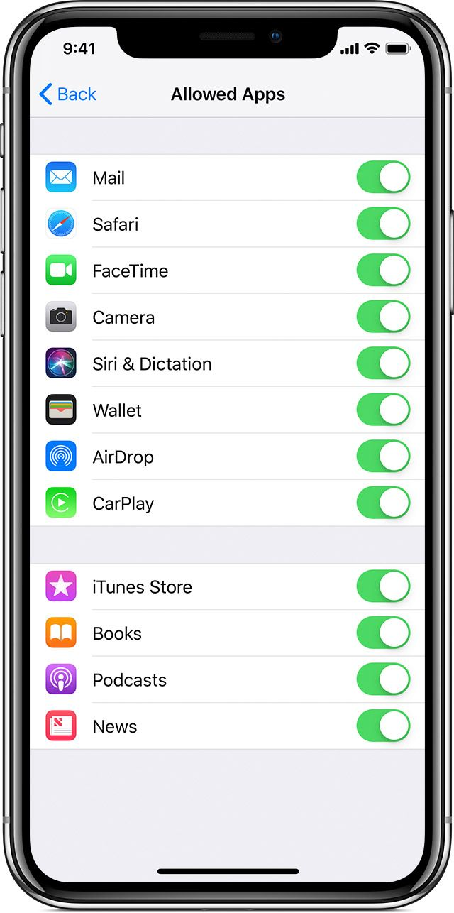 Use parental controls on your child's iPhone, iPad, and